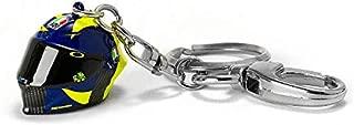 Valentino Rossi VR46 Moto GP Sun & Moon 3D Helmet Key Ring Official 2019
