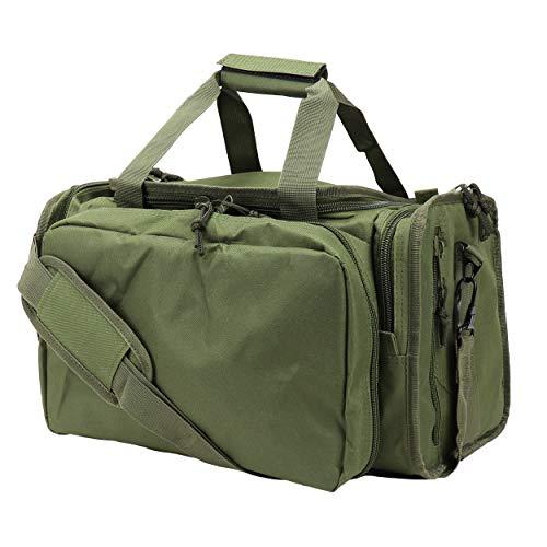 Osage River Tactical Shooting Gun Range Bag, OD Green , Light Duty (13.5 x 10.5 x 7.5) Inches