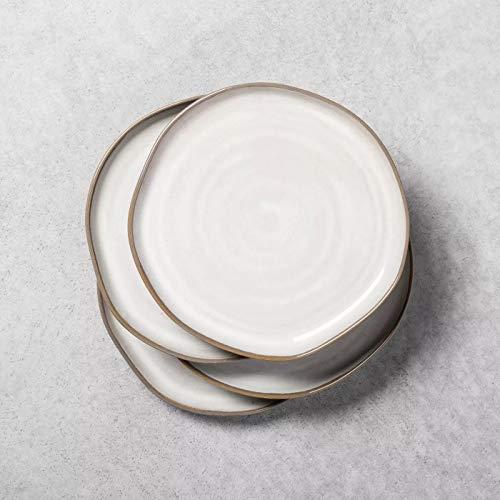 Salatteller Reactive Glaze – Herd und Hand mit Magnolie