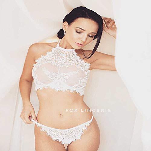ZHANGNUO Sexy Dessous Sexy Hot Erotic Babydolls Kleid Sexy Weihnachtskleidung Nachtwäsche Erspective Quaste Frauen Porno Unterwäsche Plus Größe XXL/Weiß
