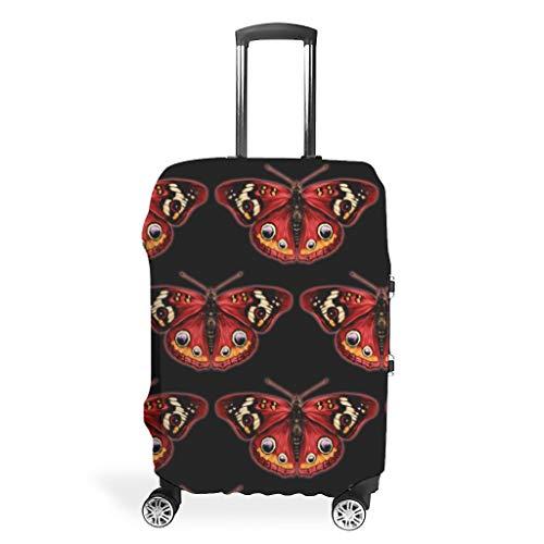 Funda protectora para maleta de viaje – Impresión Multi Size traje para muchos equipajes, blanco (Blanco) - LIFOOST-XLXT