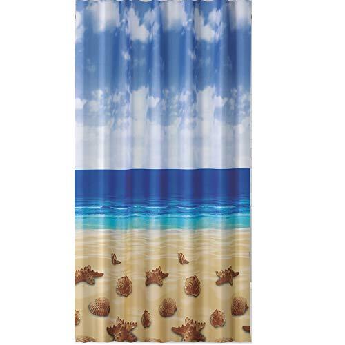 EDLER Textil Duschvorhang 240 x 200 cm