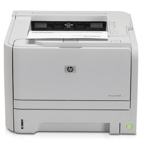 HP Laserjet P2035 Monochrome Drucker (CE461 A # ABA) schwarz Printer & Start Up Toner