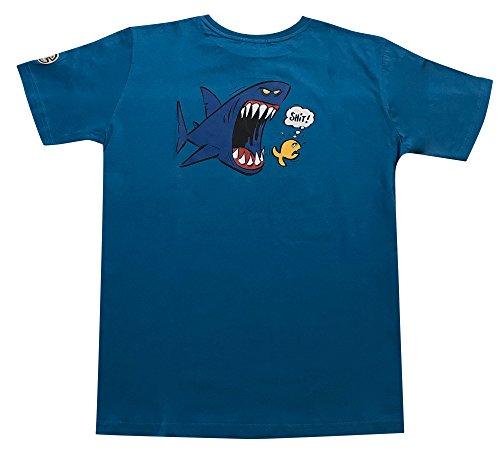 IQ - Maglietta Shark 1, Edizione Limitata (Flintstone), Pietra, L
