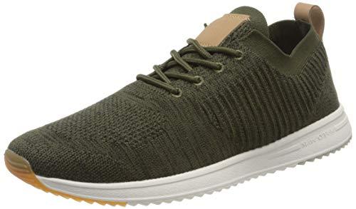 Marc O'Polo Herren 00223713502600 Sneaker, Grün (Kaki 410), 41 EU