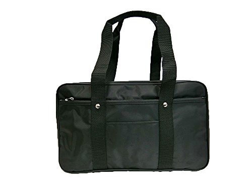 【日本製】無印スクールサブバッグ ナイロン製(ブラック)42cm488gA4ファイルサイズ19064教科書等の重い荷物専用