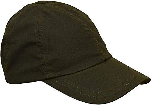 Jiushilun Mütze Uni-Sex Wax Baseball Cap Waxed Cotton One-Size-Olive A