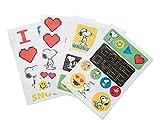 Pegatinas Snoopy impermeables y reutilizables. Paquete de pegatinas: 30 stickers, optimas pegatinas para móvil, ordenador, tablet, etiqueta para botellas