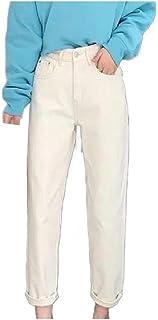 CuteRose Womens Over Waist Baggy Style Harem Pants Slim Fit Denim Jeans