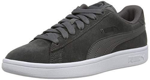 Puma Smash V2 Sneaker Unisex - Adulto, Castlerock/Puma Black/Puma White 32), 43 EU
