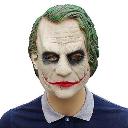 Joker Batman masque déguisement Clown Latex Headgear Dark Knight Film Accessoires
