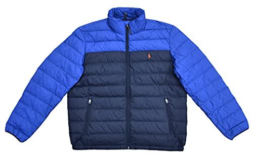 Ralph Lauren Chaqueta acolchada para hombre, color azul, talla XL