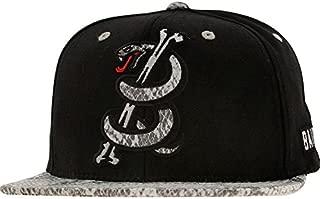 Men's Snake Logo Starter Snapback Cap Hat