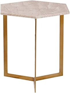 ZTTZX Side Table-Creative Small Apartment Living Room Coffee Table Simple Side Marble Coffee Table