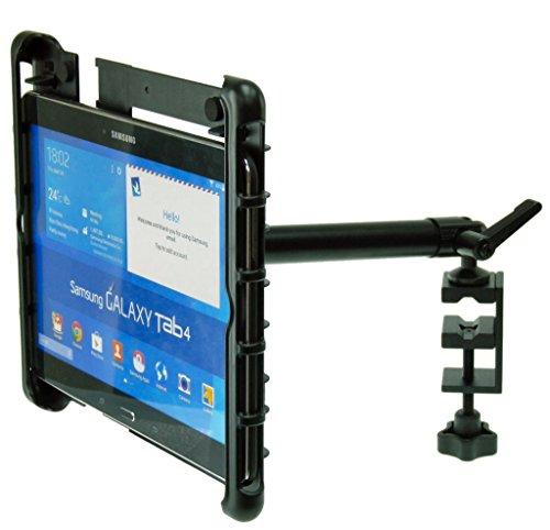 Preisvergleich Produktbild Buybits Klemmflansch für Samsung Galaxy Tab 4 3 2 (10.1) Passungen Tisch Bench Tisch Regal Arbeitsplatte Laufband Crosstrainer Notenständer