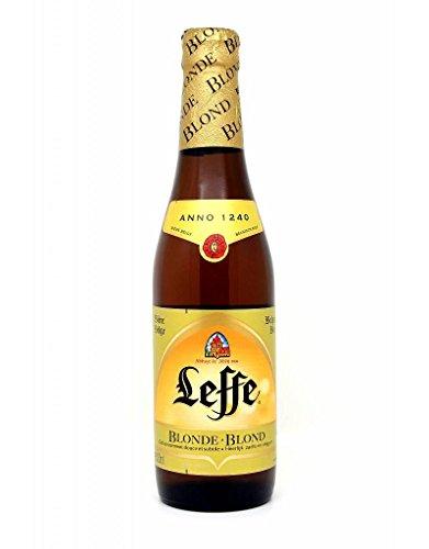 Bier Leffe Blonde Steige mit 24 Flaschen x 0,33 lt.
