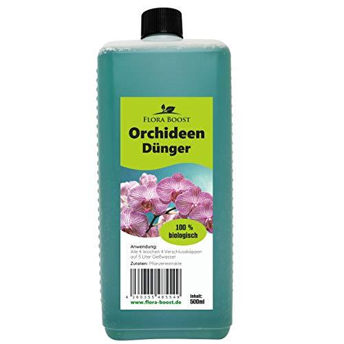 Orchideendünger flüssig - Orchideen Dünger Flüssigdünger - Für bis zu 100 Liter Gießwasser (500 ml)