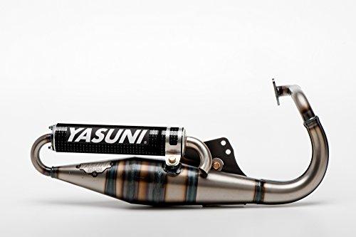 Marmitta Scooter YASUNI Z Carbon per Peugeot in piedi