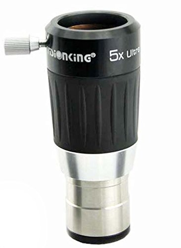 Visionking Telescope Eyepiece 1.25 inches Eyepiece for 5X 4-Element Barlow Lens Metal Body