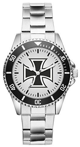 KIESENBERG Uhr - Soldat Geschenk Bundeswehr Artikel Eisernes Kreuz 1137