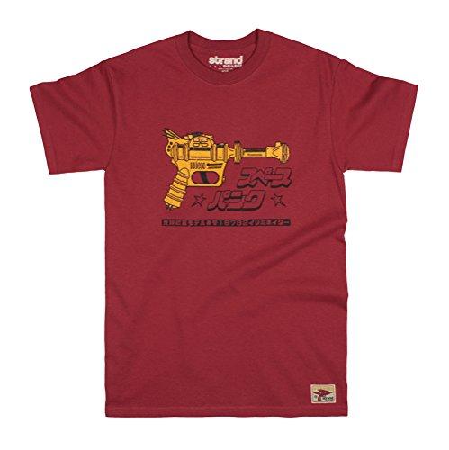 Strand Clothing - Camiseta - Manga Corta - para Hombre Rojo Rosso XX-Large