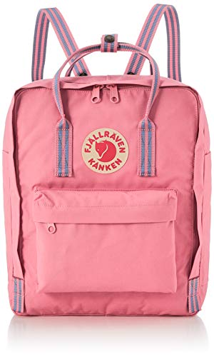 Fjallraven Kånken Sports Backpack, Pink-Long Stripes, One size