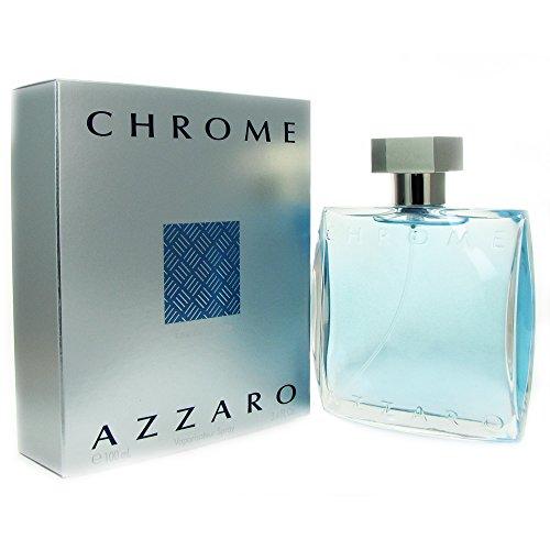 Azzaro Chrome Eau de Toilette Men 100ml | Herren-Duft | Eau de Toilette | edler Flakon | Versandkostenfrei!