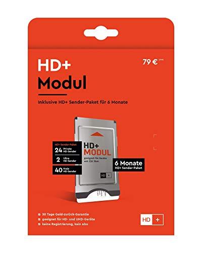 SmardTV CI+ - Módulo CI+ de televisión de pago (programas HD, 12 meses)