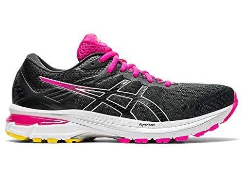 ASICS Women's GT-2000 9 Running Shoes, 8.5M, Graphite Grey/Black