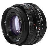 Obiettivo fisso manuale a focale fissa con innesto EF da 50 mm F1.7 a grande apertura compatibile con fotocamera SLR Obiettivo manuale standard full-frame verticale