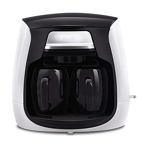 SWQA Küche Kaffeemaschine Büro Home Drip Amerikanische Kaffeemaschine Mini Kaffeemaschine Teemaschine EIN-Knopf-Bedienung