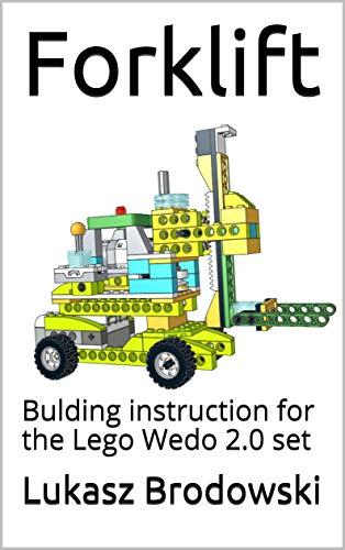 Forklift: Bulding instruction for the Lego Wedo 2.0 set