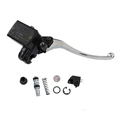 HURI Brake Master Cylinder with Repair Kit for Kawasaki KZ700 KZ650 KZ550 KZ400 KZ200 KZ550 KZ750 KZ900 KZ1000 KZ1300