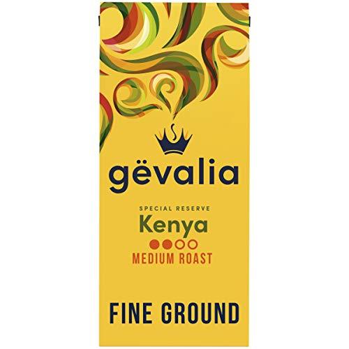 Gevalia Special Reserve Kenya Single Origin Mild Medium Roast Fine Ground Coffee (10 oz Bag)