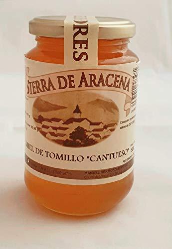 Miel de Tomillo 'Cantueso' : Miel Natural de Alta Calidad de elaboración artesanal en el Parque Natural de la Sierra de Aracena y Picos de Aroche