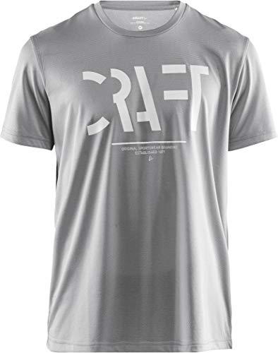 Craft Herren EAZE SS MESH Tee M Monument XL T-Shirt