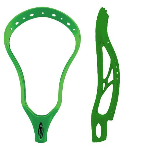 Warrior Evo Lacrosse Unstrung Head-X Universal Spec (Black)