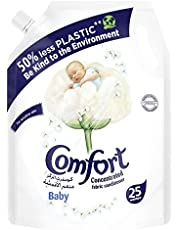 Comfort Concentrated Fabric Conditioner Baby, 1 liter Pouch