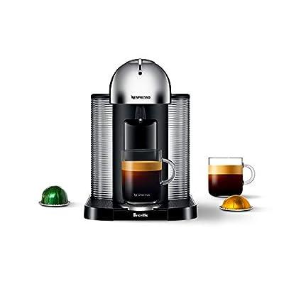Nespresso Vertuo Coffee and Espresso Machine by Breville - Chrome - BNV220CRO1BUC1