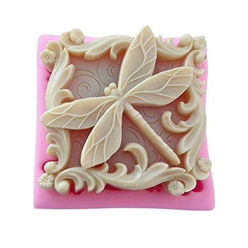 September Pretty Libelle und Schmetterling Insekten Silikon Backform Seife Form Kerze Polymer Clay Formen DIY Kuchen Schokolade Fondant Backform backen Werkzeuge 921