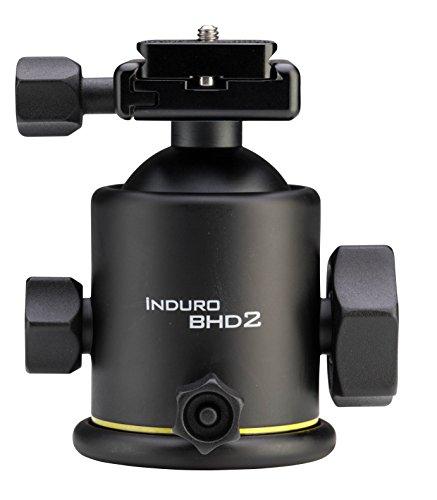 Induro BHD2 Ballhead 39.6lb Load Capacity,Black