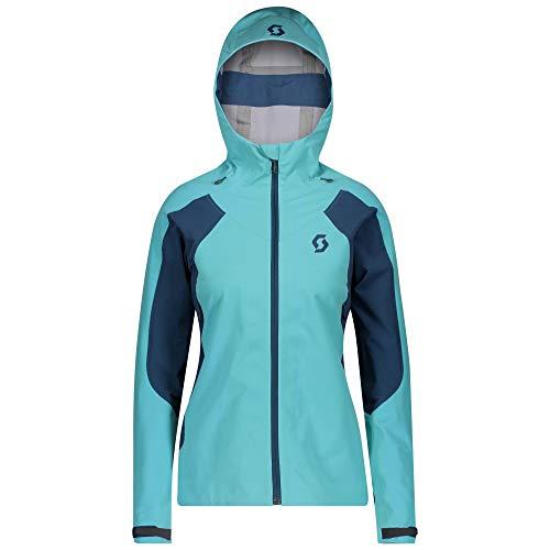 Scott W Explorair Ascent WS Jacket Colorblock-Blau, Damen Jacke, Größe M - Farbe Bright Blue - Majolica Blue