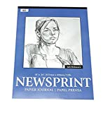 Jack Richeson - 100213 Newsprint Pad, 32 lbs,...