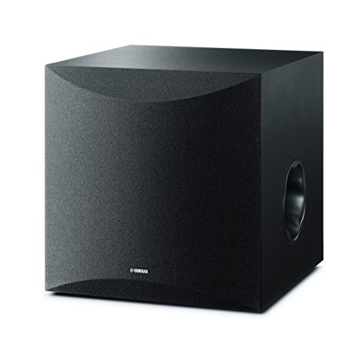 Yamaha NS-SW100 - Altavoz subwoofer Amplificado (25-180 Hz) Color Negro
