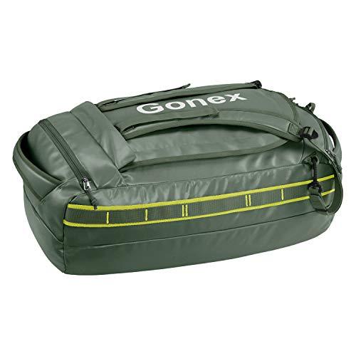 Gonex 40L 60L 80L repelente al agua Duffel Outdoor Heavy Duty Duffle Bag con correas de mochila para senderismo, camping, viajes, ciclismo, esquí para hombres y mujeres, Olive Green), Gonex-GXGN0522D