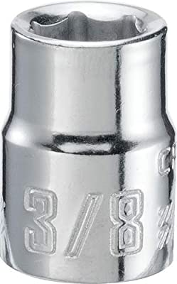 CRAFTSMAN Shallow Socket, SAE, 3/8-Inch Drive, 3/8-Inch, 6-Point (CMMT43001)