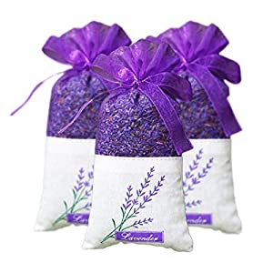 YYFZ Flowers Natural Lavender Bud Dried Flower Sachet Bag Car Fragrance Air Freshener Desiccant Household Sachet Artificial Flowers