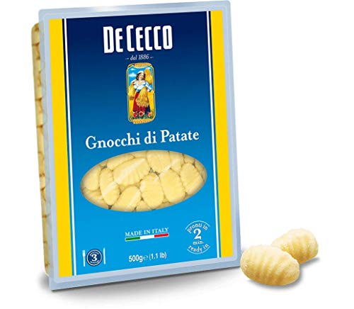 10x Pasta De Cecco 100% Italienisch Gnocchi di patate Nudeln 500g