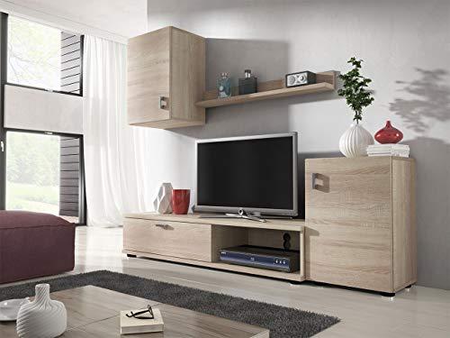 Wohnwand – Mirjan24  Lia Elegantes Wohnzimmer Set kaufen  Bild 1*