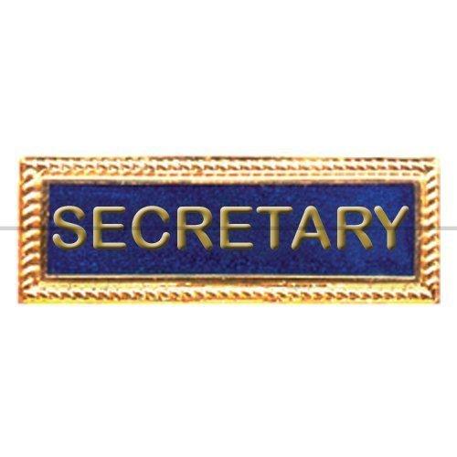 Name, segretario Badge